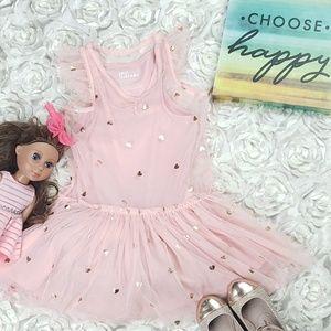 Epic Threads Gold Heart Print P TuTu Toddler Dress